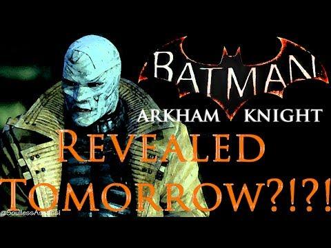 Next Batman Arkham Game Revealed tomorrow?!?!