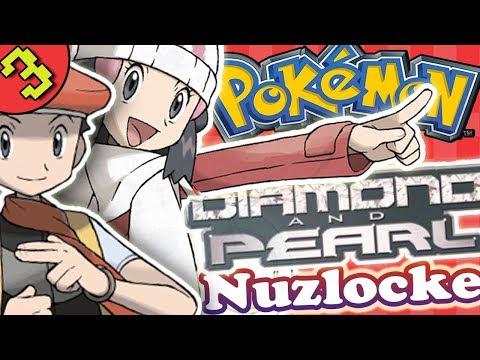 Shinx Hunt! Pokemon Diamond & Pearl Gameplay Part 3 Multiplayer Walkthrough Playthrough