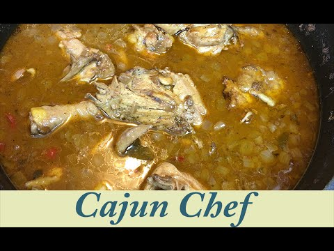 Chicken Stew (Real Cajun Recipe)