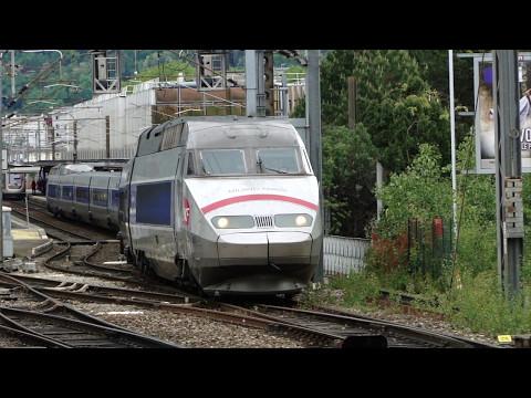 Fret, TER, TGV et détournement à Grenoble.
