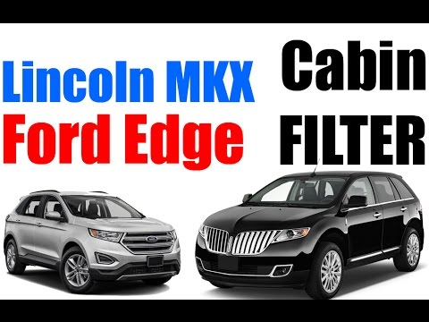Ford Edge Lincoln MKX CABIN FILTER REPLACEMENT - EASY!