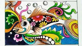 Zentangle Butterfly Ragam Hias Kupu Kupu