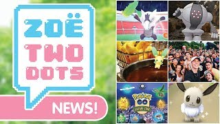 ALOLAN RAIDS, SHINY EEVEE, NEW LEGENDARIES & MORE | Pokemon GO | ZoeTwoDots