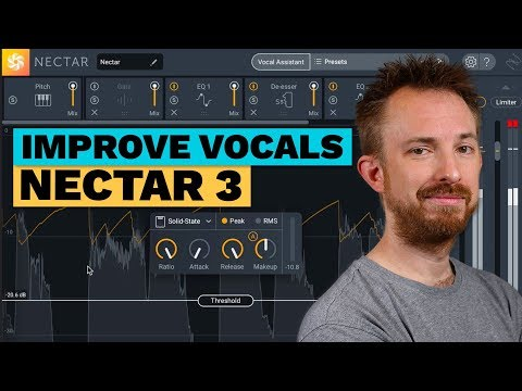 Improve Vocals - iZotope Nectar 3 Demo and Review