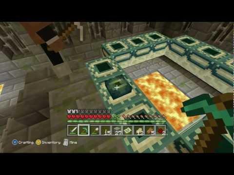Minecraft Xbox: END PORTAL!! UPDATE!