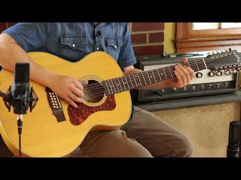 Black Mountain Rag: 12 String Open D Tuning Arrangement/Lesson