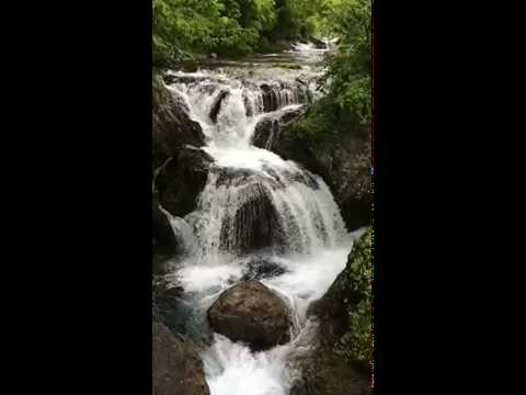 Triple Deck Falls in Otaki Hokkaido