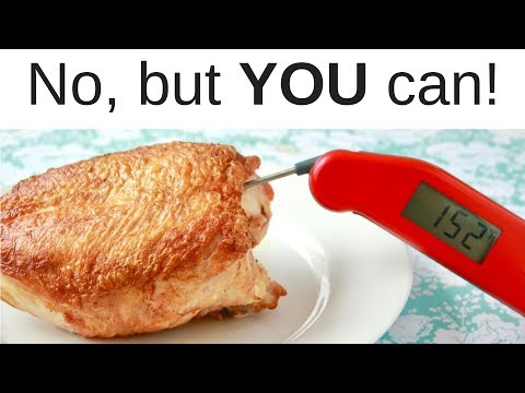 Can a $100 thermometer be 40 degrees off?