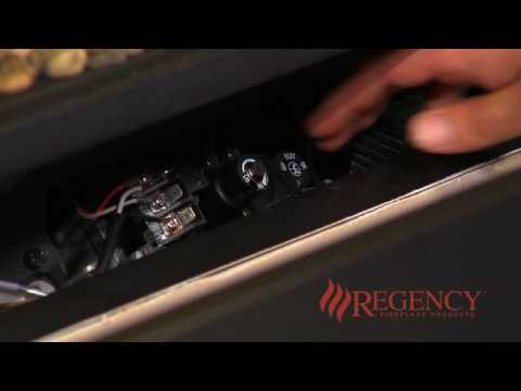 Lighting the Pilot - Fireplaces with Direct Spark Ignition