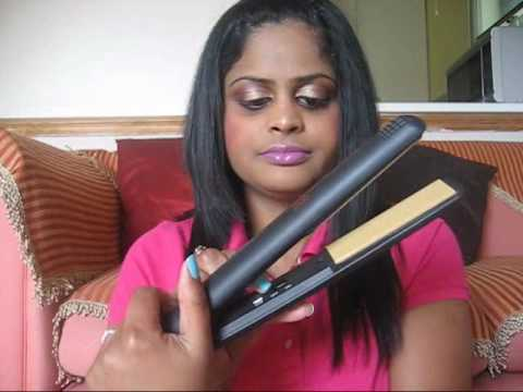 How To:Curl your hair using straightener