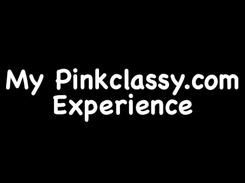 My Pinkclassy.com Experience/Online Shopping