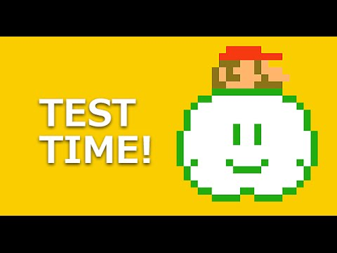 Mario Maker Level Tests Your Math Knowledge