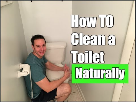 How to Clean a Toilet Naturally | Cleaning Without Chemicals