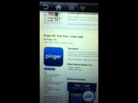 How to get free pinger minutes