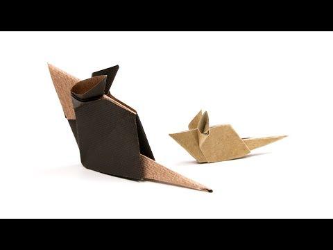 Cute Origami Mouse Tutorial ♥︎ Paper Kawaii