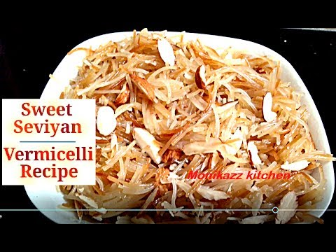 How to make sweet vermicelli recipe at home / Meethi Seviyan recipe in hindi - monikazz kitchen