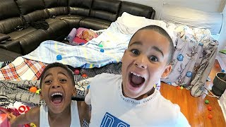 REVEALING OUR CRAZY NEW FORT!!