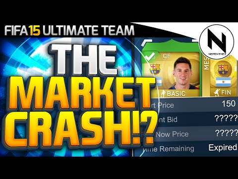 THE MARKET CRASH!? - FIFA 15 Ultimate Team