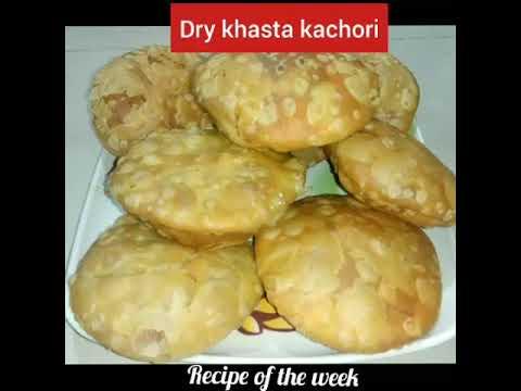 Dry khasta kachori/suki khasta kachori/સૂકી ખસ્તા કચોરી/snacks recipe/how to make khasta kachori