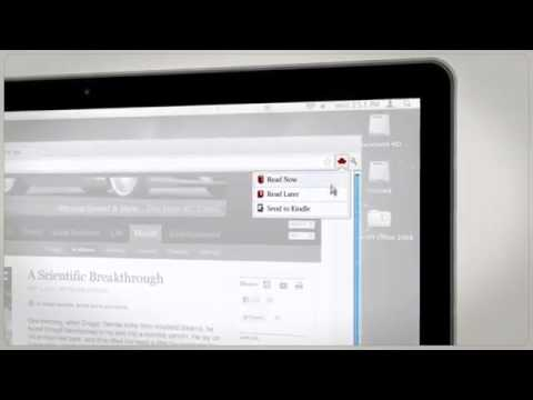 Send any web article to your Amazon Kindle with Readability