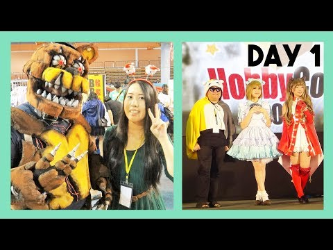 VLOG: HOBBYCON 2017 DAY 1!