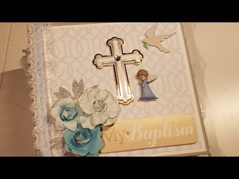 Baby Boy Baptism Mini Album