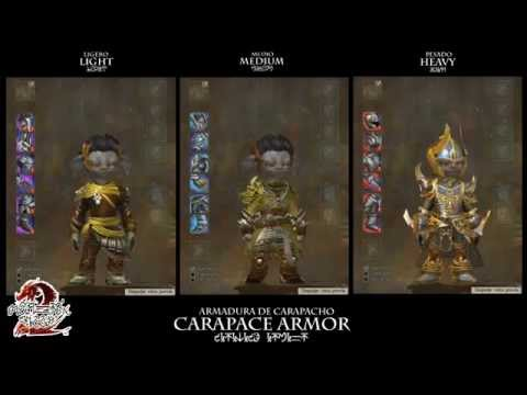 Guild Wars 2: Carapace Armor (Asura Male)