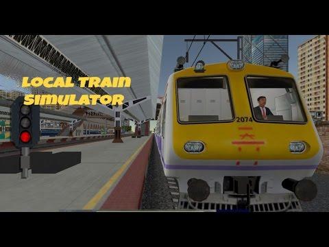 Local Train Silumator    Gameplay