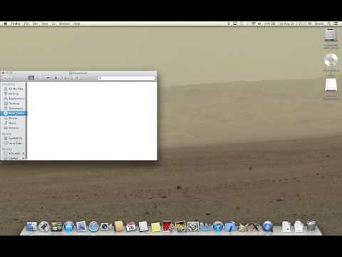 Getting rid of hard drive icon on mac desktop