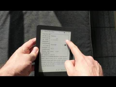 Kobo Aura H2O 2nd Edition Blogger Review