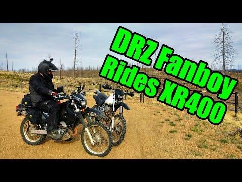 DRZ400 Fanboy Rides an XR400
