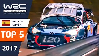 WRC - RallyRACC 2017: Top 5 Highlights