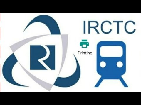 how to print a railway ticket on IRCTC - Android phone and pc