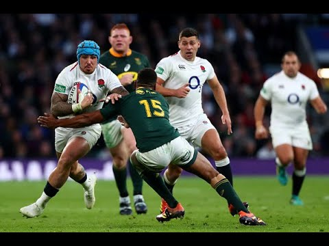 Highlights: England 12 South Africa 11