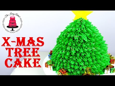 Christmas Tree Cake - How To With The Icing Artist