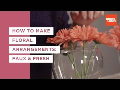 Floral Arrangements and Tools 101