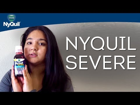 Liquid Cold Medicine Reviews: Vicks NyQuil SEVERE Cold & Flu Relief Liquid