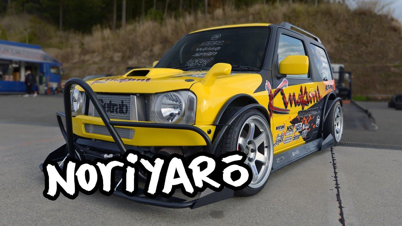 Drift a Suzuki? SR20-powered all-custom Suzuki Jimny drift car by Kinokuni