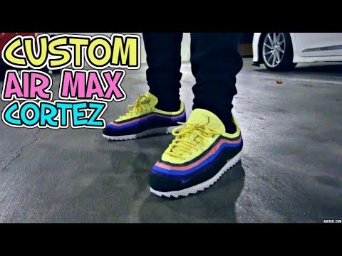 CUSTOM SEAN WOTHERSPOON CORTEZ ON FEET + CRAZY PICK UP VLOG!!!
