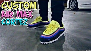 reputable site 028f6 4abc3 CUSTOM SEAN WOTHERSPOON CORTEZ ON FEET + CRAZY PICK UP VLOG!!! - getplaypk