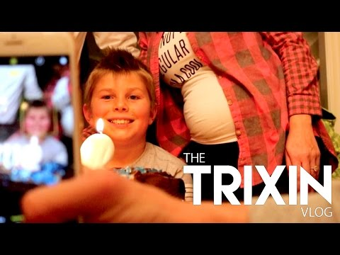 STAY HAPPY POSITIVE AND ATHLETIC! HAPPY BIRTHDAY COOP! | TRIXIN VLOG