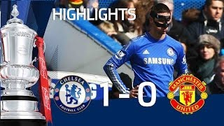 Exclusive Pitchside Highlights: Chelsea vs Manchester United 1-0, FA Cup Sixth Round | FATV