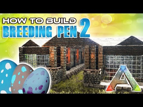 Breeding Pen How To Build | Ark Survival