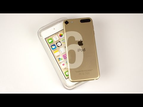 iPod touch 6th Gen Unboxing! (Gold)