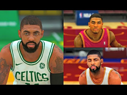 Kyrie Irving from NBA 2K13 to NBA 2K18! #BOS #PS4