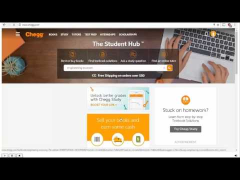 How to Use Chegg Textbook Solutions