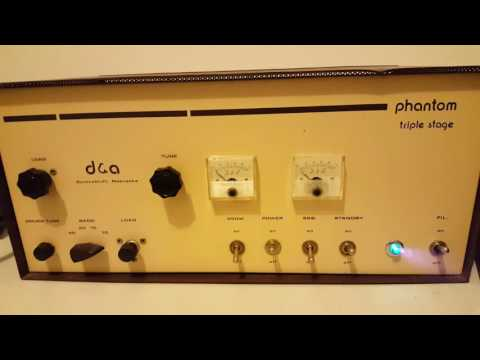 Vintage D&A Triple Stage Phantom linear amplifier