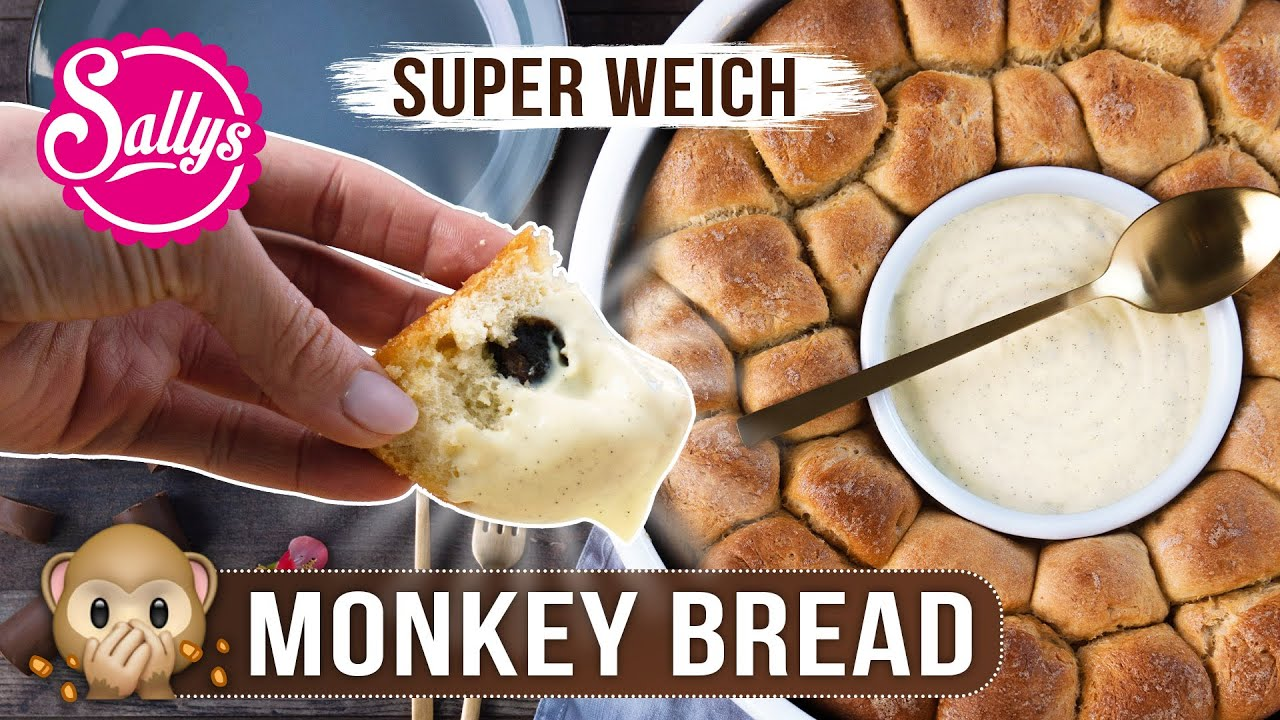 Monkey Bread / Party-Zupfkuchen / süßes Affenbrot / Sallys Welt