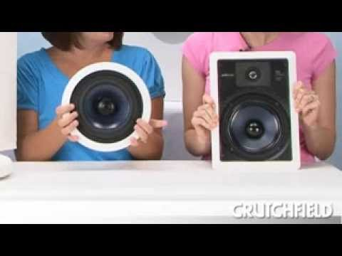 Polk RCi-Series In-Wall and In-Ceiling Speakers | Crutchfield Video