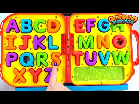 Teach Toddlers Letters and Alphabet Sounds!